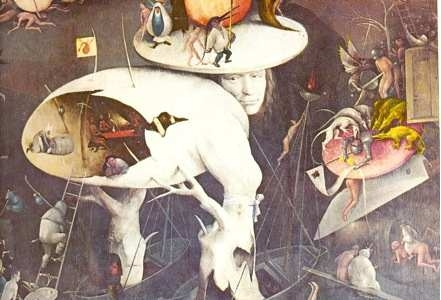 Hieronymus Bosch, El jardín de las delicias terrenales (fragmento)
