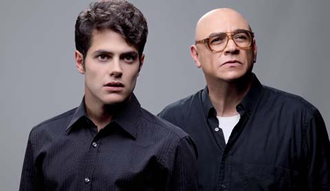 'Rojo', con Alfonso Dosal (Ken) y Víctor Trujillo (Mark Rothko)