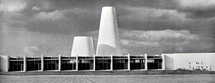 La célebre fábrica Automex (1964) de Toluca fue la primera obra maestra de Ricardo Legorreta (1931-2011).