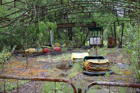 Una vista de Prípiat, la ciudad fantasma junto a Chernóbil (foto: Wikipedia)