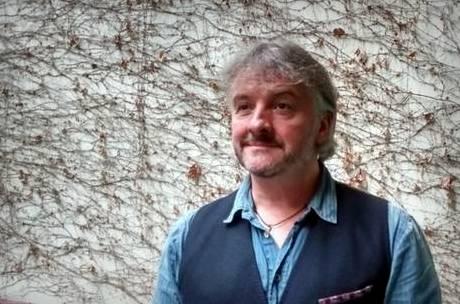 John Connolly, de visita en Buenos Aires (foto: Tusquets).