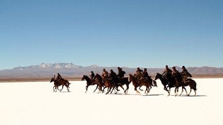 Escena del 'western' de Mateo Gil, 'Blackthorn'.