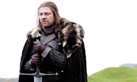 Sean Bean interpreta a Eddard Stark.