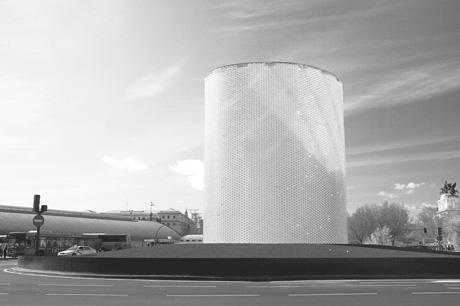 Monumento de homenaje a las víctimas.