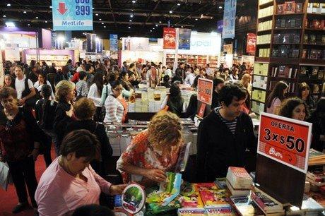 Una postal de la Feria del Libro de Buenos Aires.