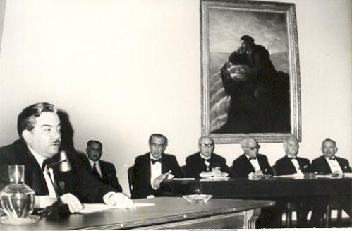 Luis González y González en la Academia Mexicana de Historia, 1973