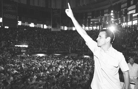 Henrique Capriles Radonski, un rival para Chávez.