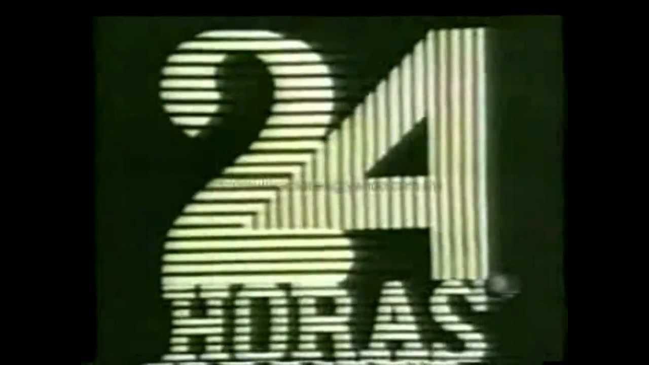 Cortinilla de inicio de 24 horas, 1972.
