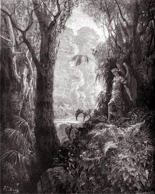 Grabado de Gustave Doré, grabador francés