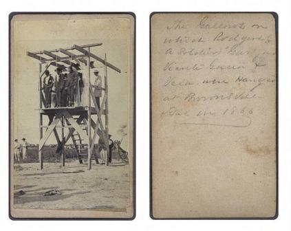 Una de las primeras ejecuciones en Texas