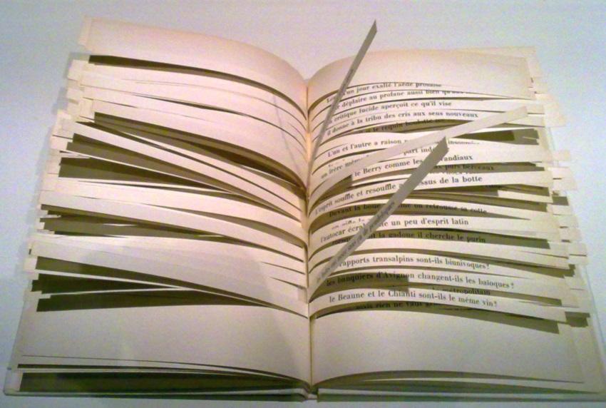 El libro de los cien billones de poemas de R. Queneau.