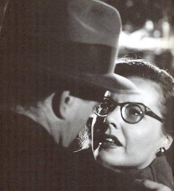 Robert Walker y Laura Elliott  en Strangers on a train