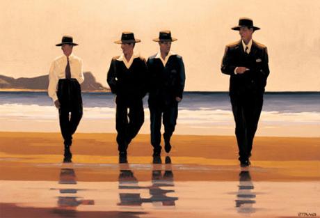 """The Billy Boys"" (Jack Vettriano, 1994)"