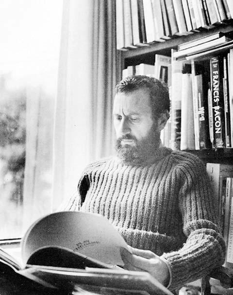Vicente Rojo polifacético: lector, tlacuilo y artista.