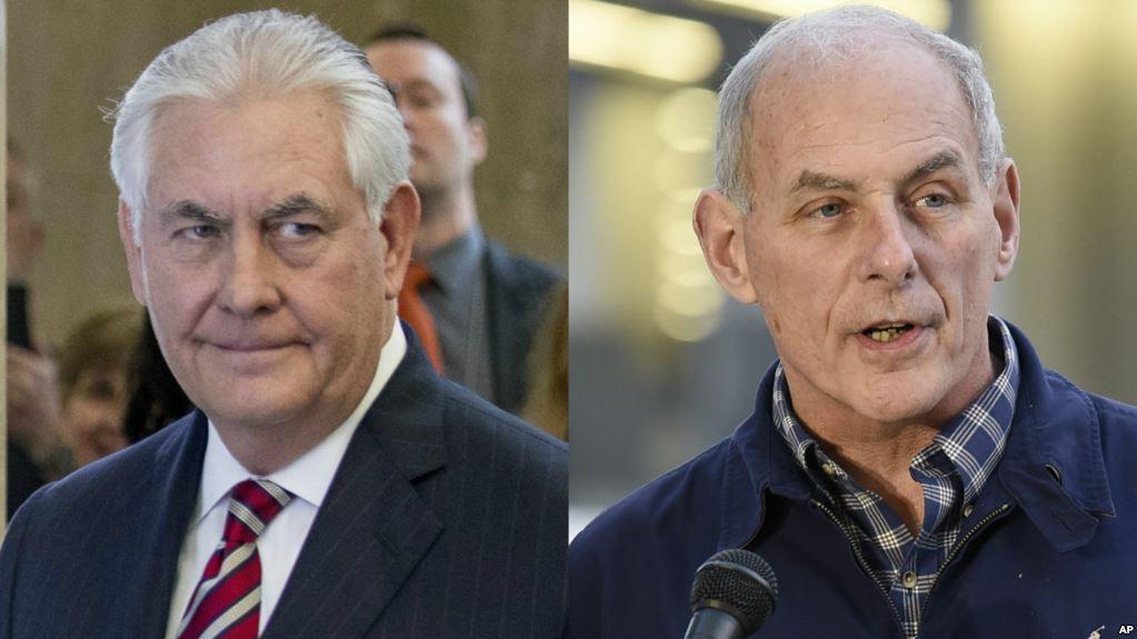 Diálogo constructivo, no confrontación suicida con Kelly y Tillerson