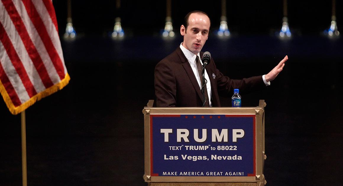 El oscuro pensamiento político del redactor de discursos de Donald Trump