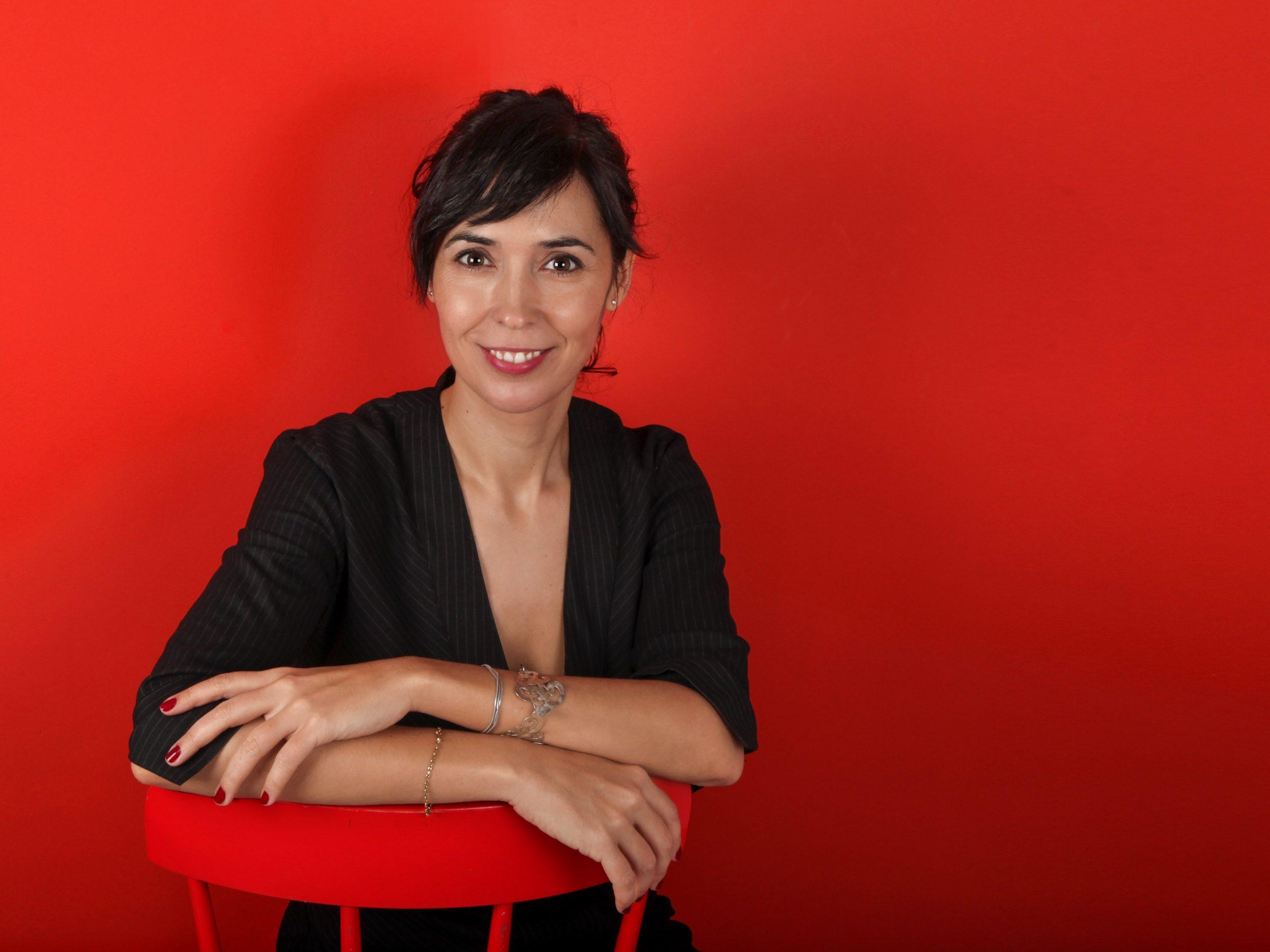 La escritora Edurne Portela