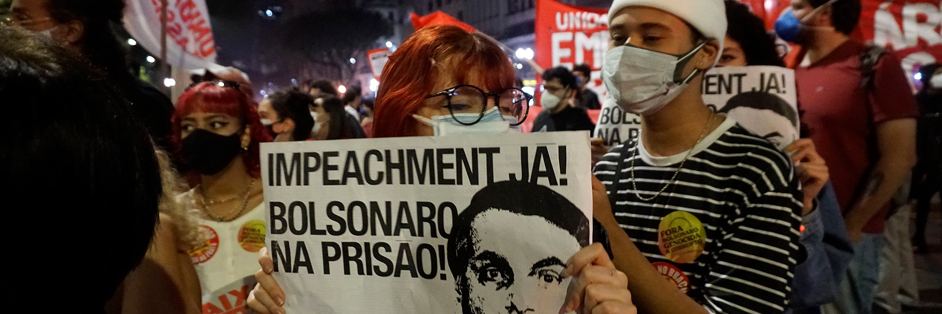 protestas conta jair bolsonaro en brasil