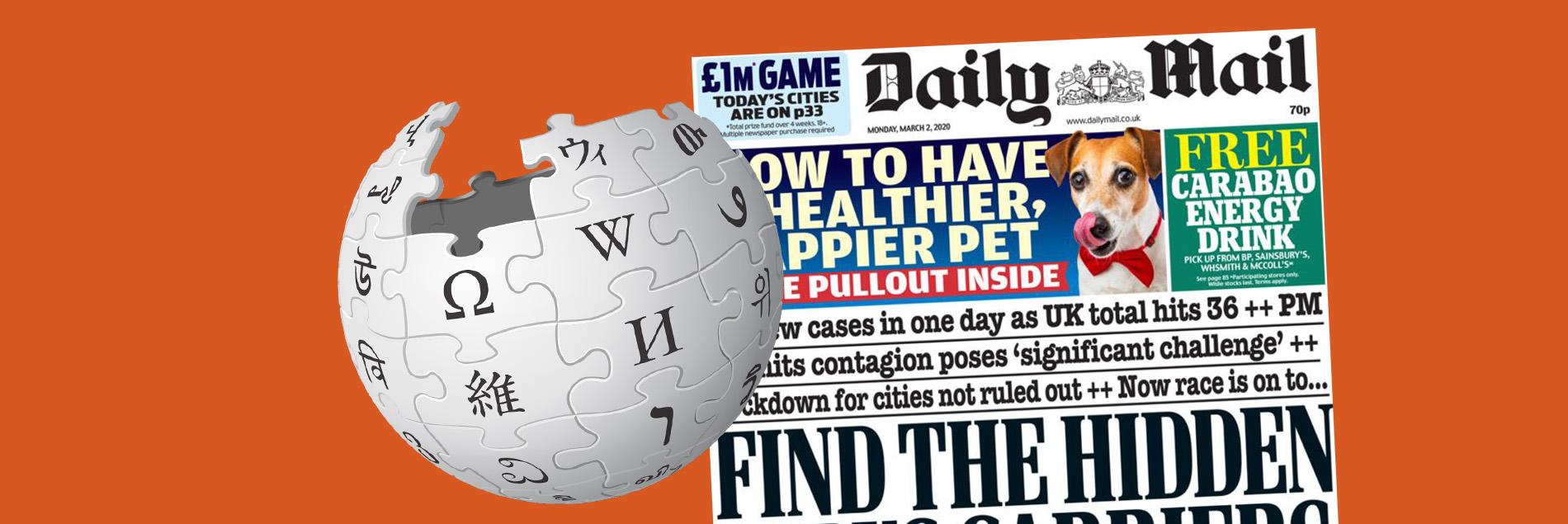 wikipedia Daily Mail