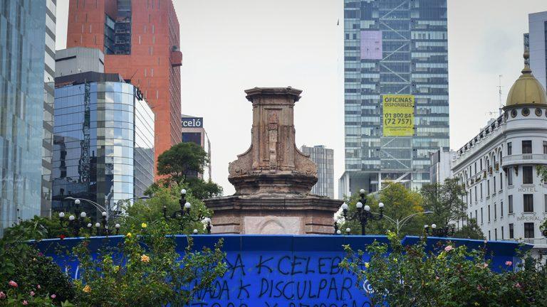 Monumento a colón ciudad de méxico